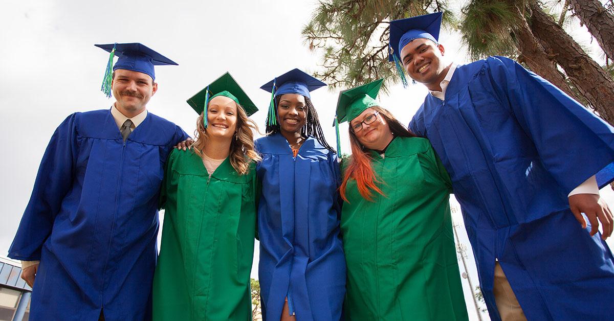EFSC graduates